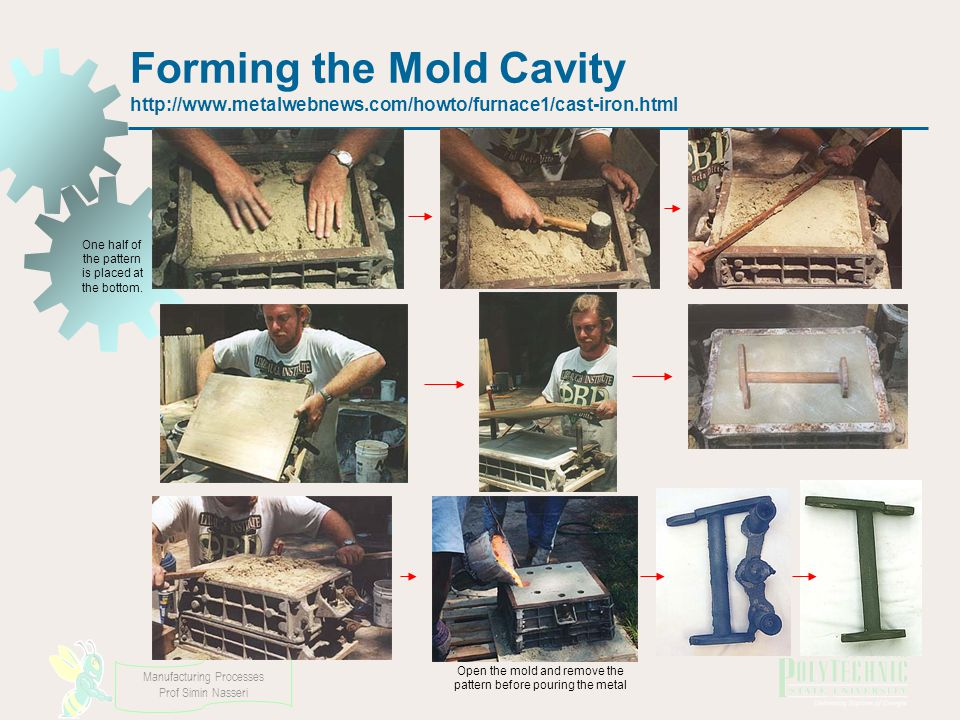 Forming the Mold Cavity   metalwebnews