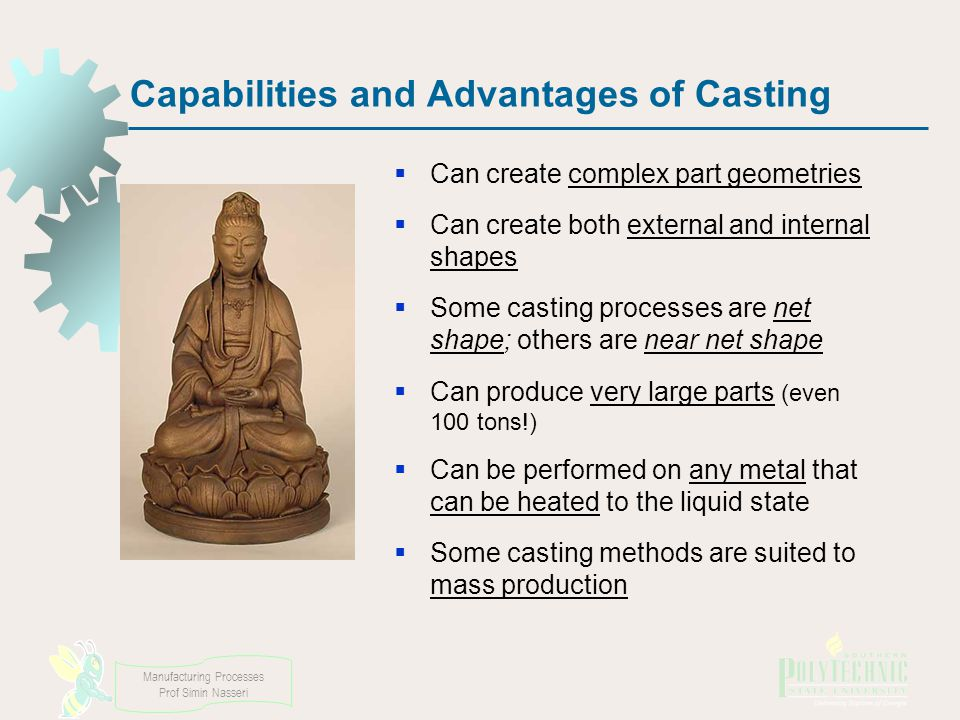 Capabilities and Advantages of Casting