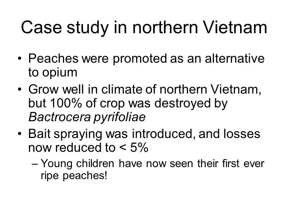 Case study in northern Vietnam