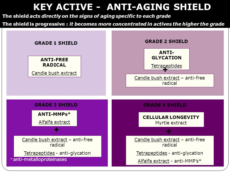KEY ACTIVE - ANTI-AGING SHIELD