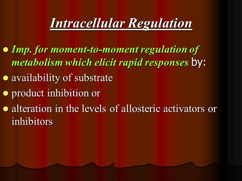 Intracellular Regulation