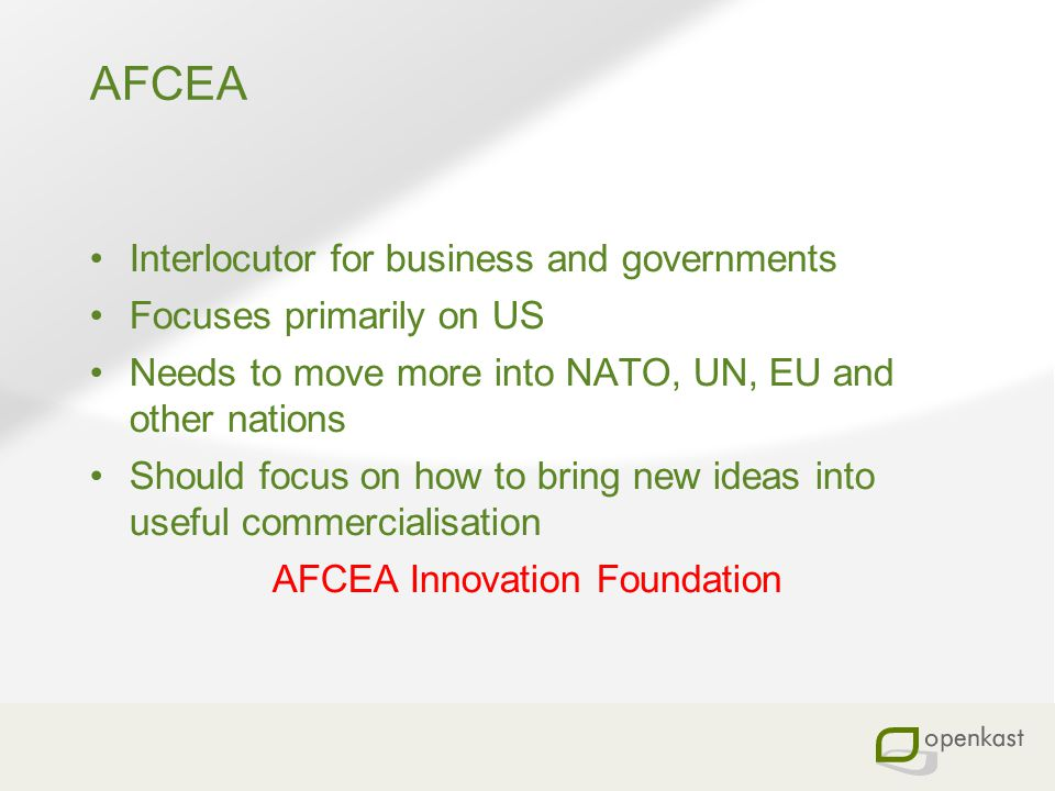 AFCEA Innovation Foundation
