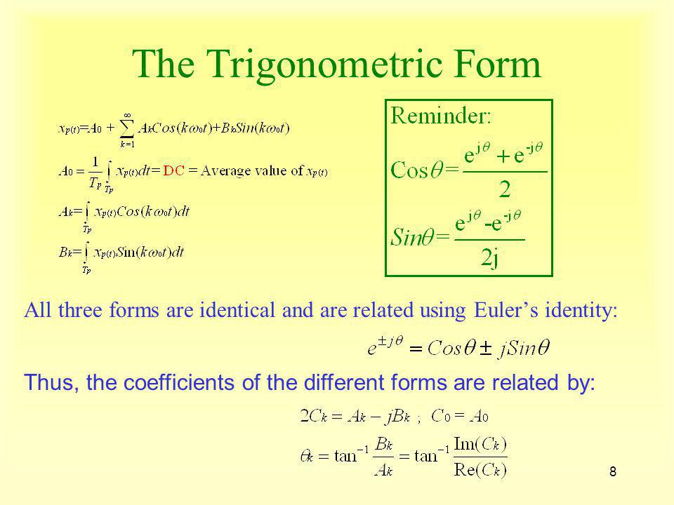 The Trigonometric Form