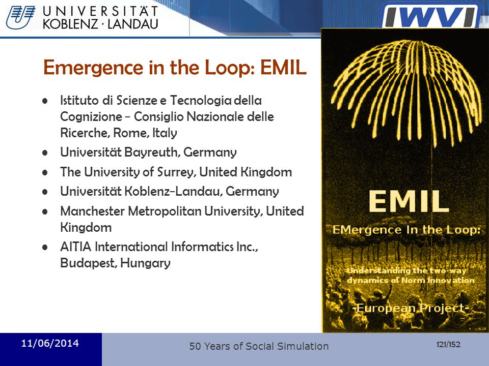 Emergence in the Loop: EMIL