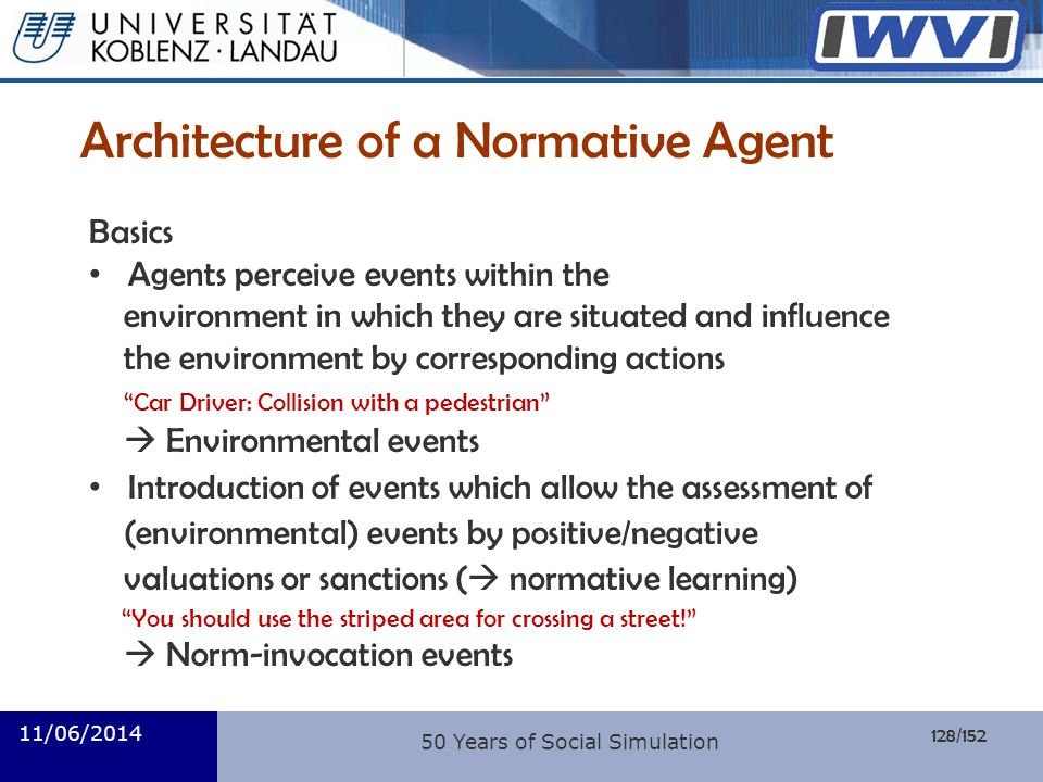 Architecture of a Normative Agent