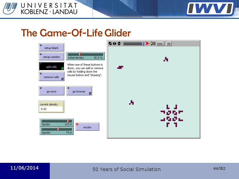 The Game-Of-Life Glider