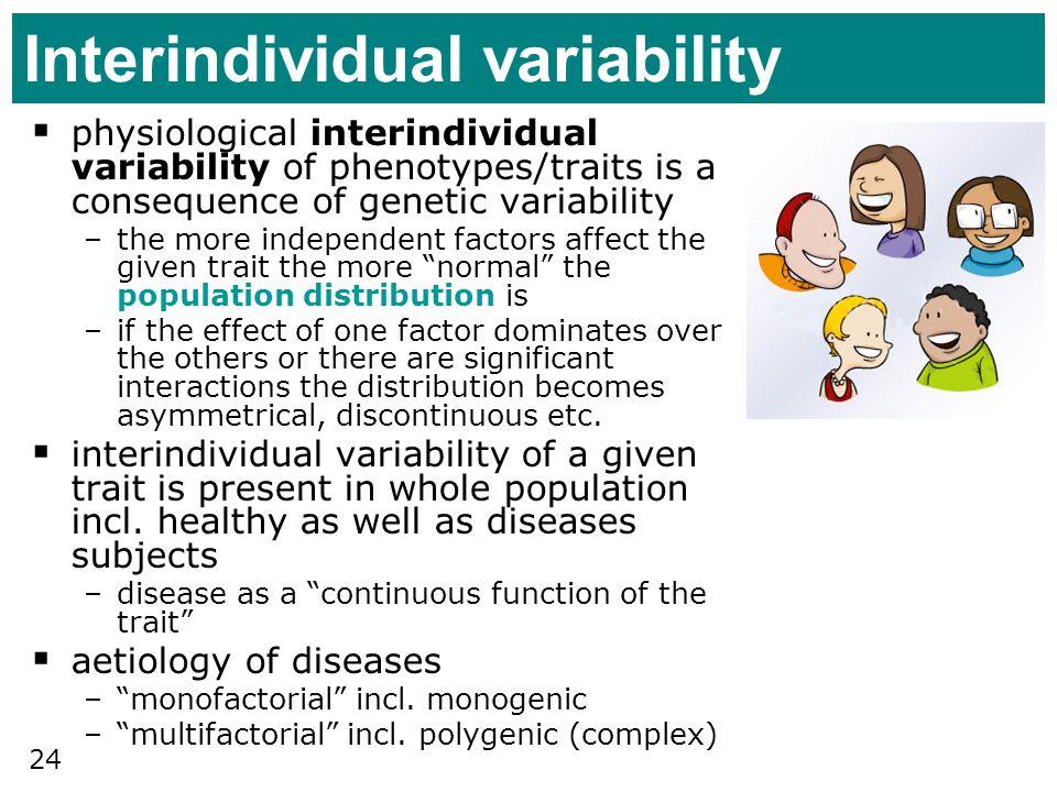 Interindividual variability