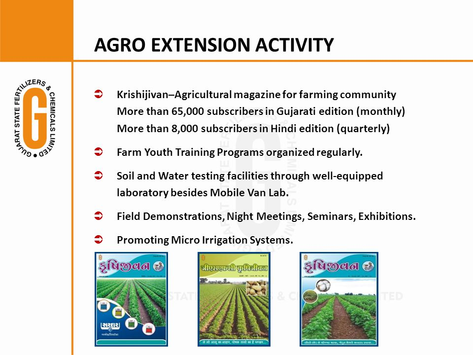 AGRO EXTENSION ACTIVITY