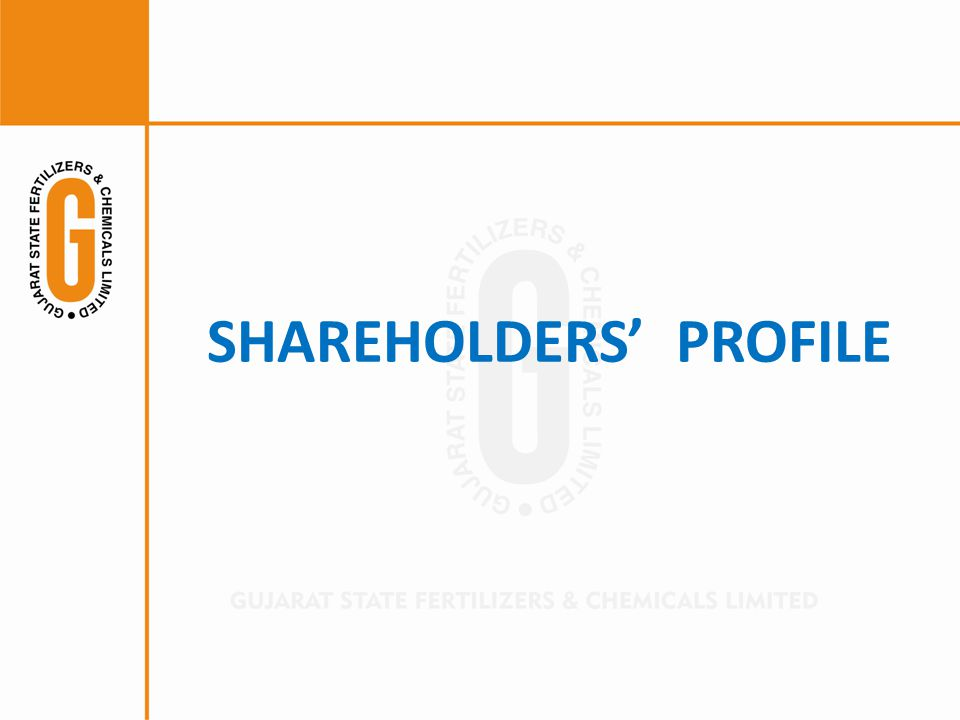 SHAREHOLDERS' PROFILE