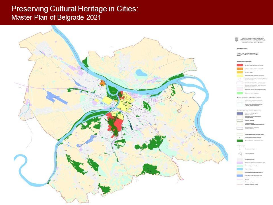 Preserving Cultural Heritage in Cities: Master Plan of Belgrade 2021