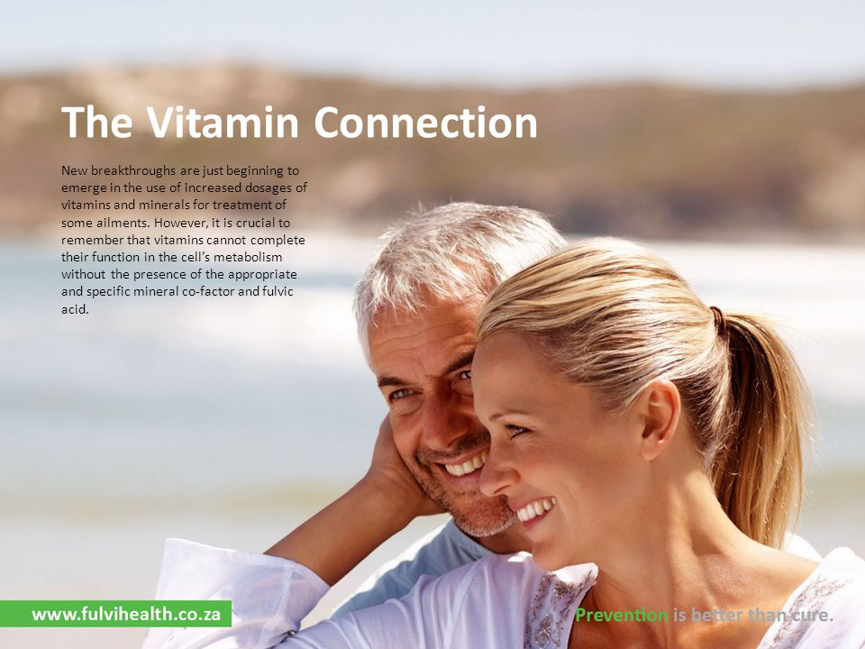 The Vitamin Connection
