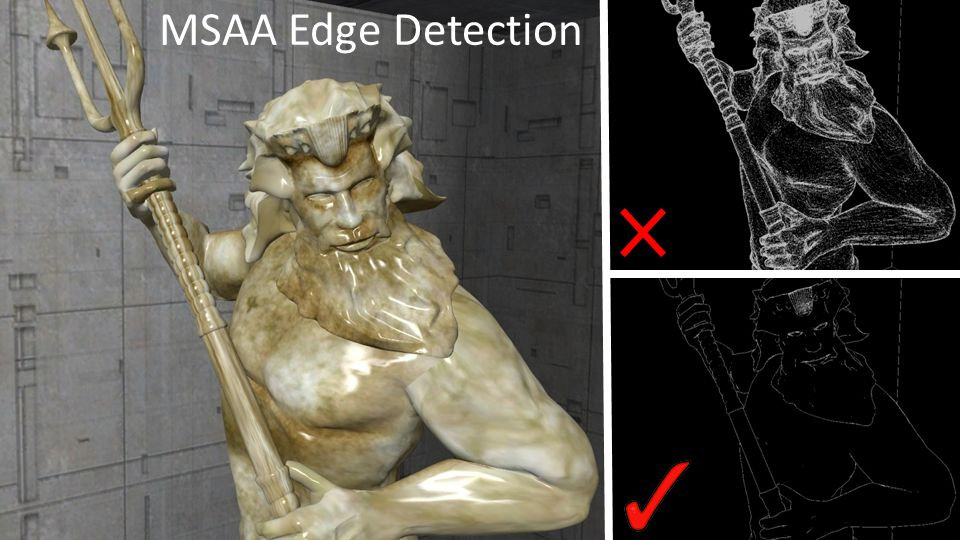 MSAA Edge Detection Conclusion