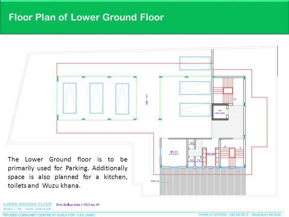 Floor Plan of Lower Ground Floor