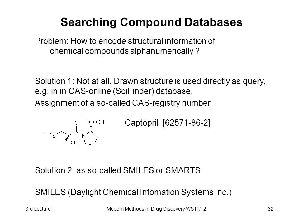 Searching Compound Databases