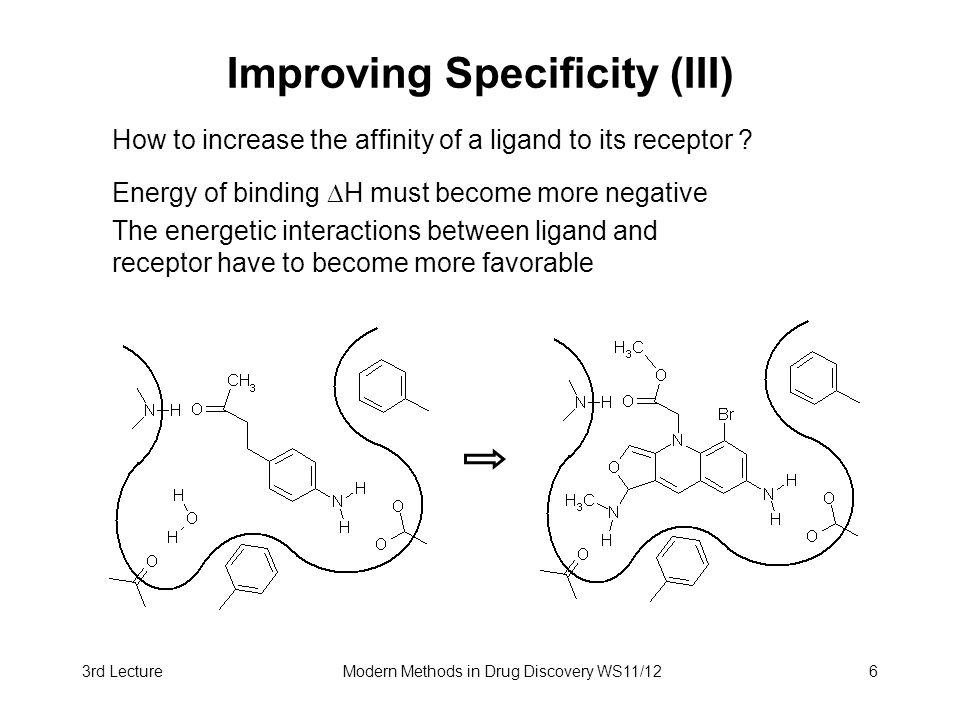 Improving Specificity (III)