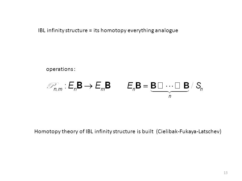 IBL infinity structure = its homotopy everything analogue