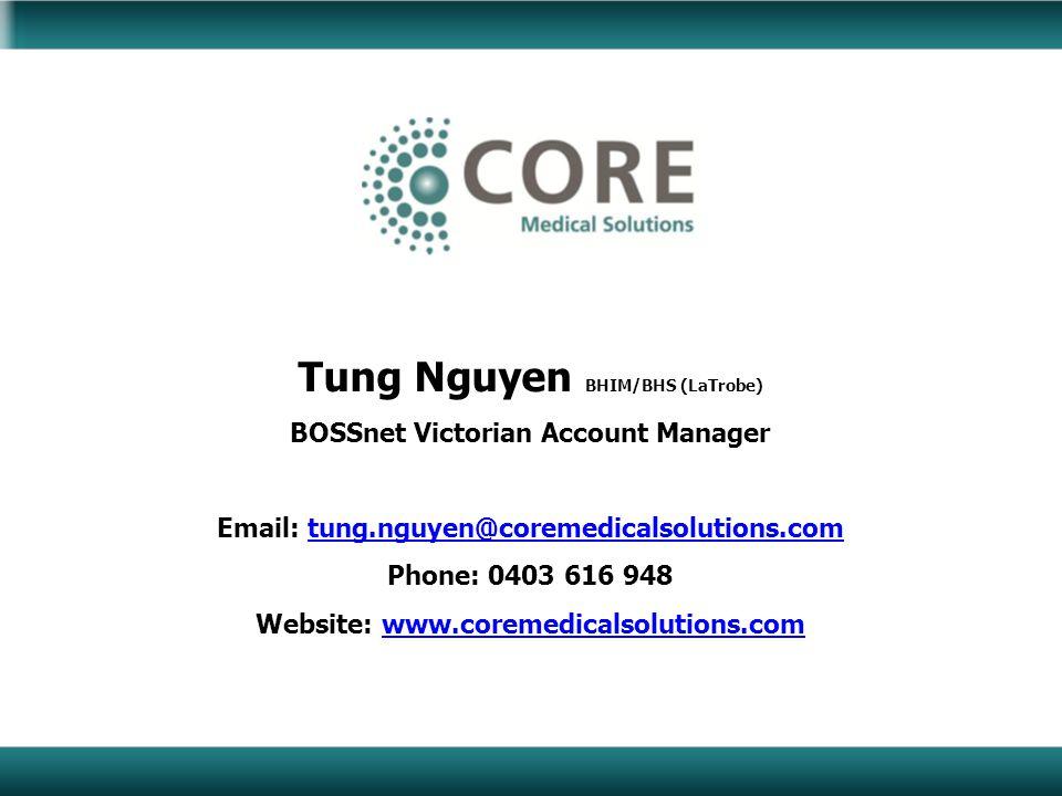 Tung Nguyen BHIM/BHS (LaTrobe)