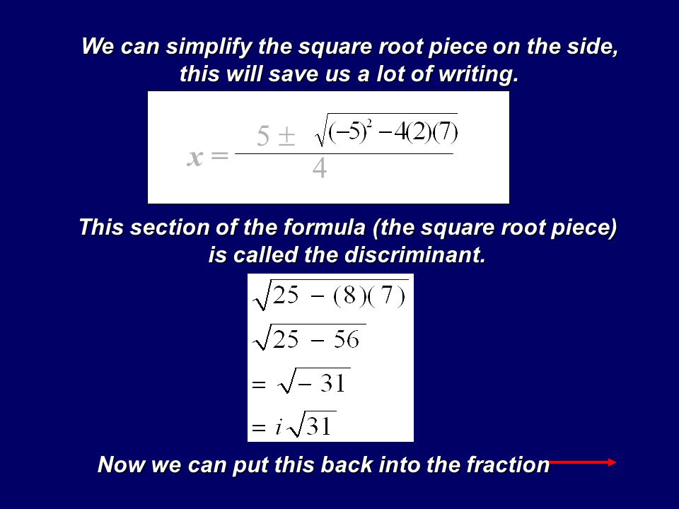 What is the square root of a fraction - Answerscom