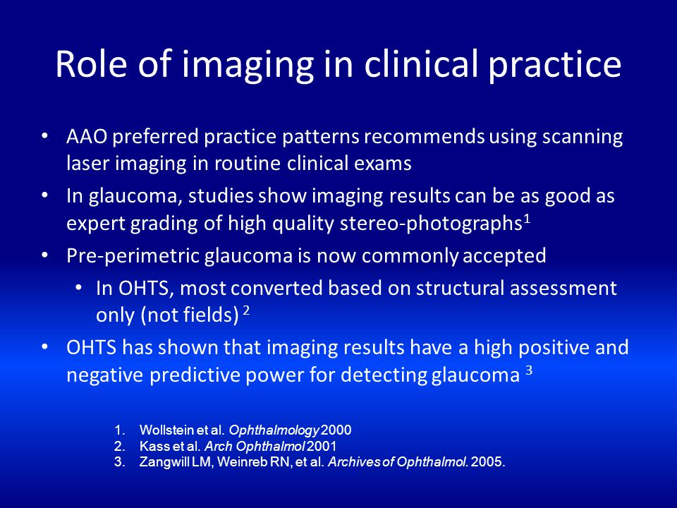 Role of imaging in clinical practice