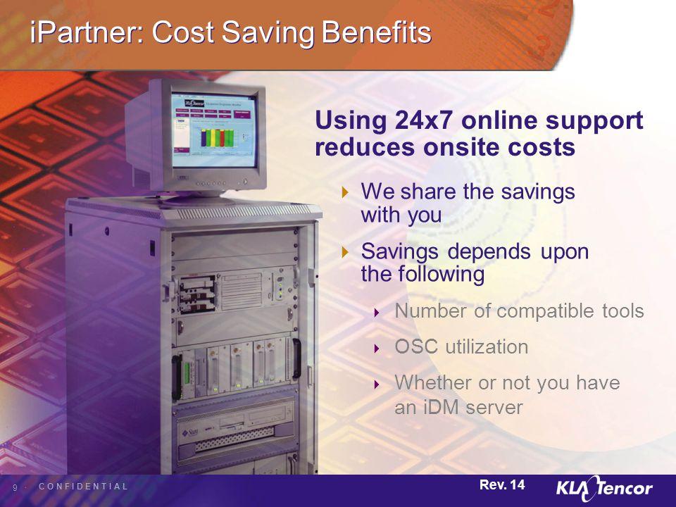 iPartner: Cost Saving Benefits
