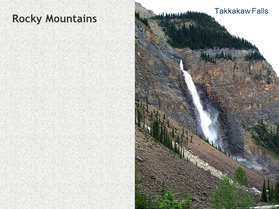 Takkakaw Falls Rocky Mountains