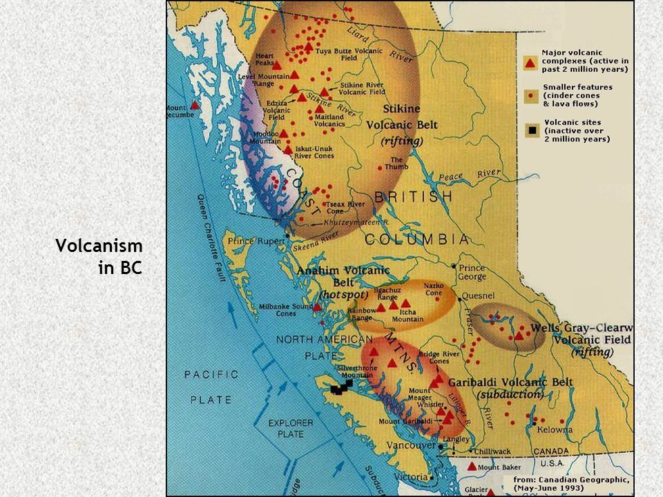 Volcanism in BC