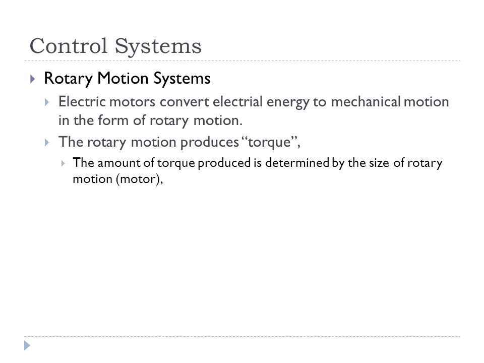 Control Systems Rotary Motion Systems