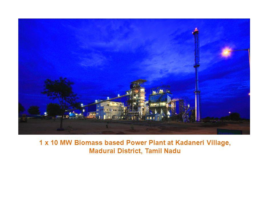 1 x 10 MW Biomass based Power Plant at Kadaneri Village,