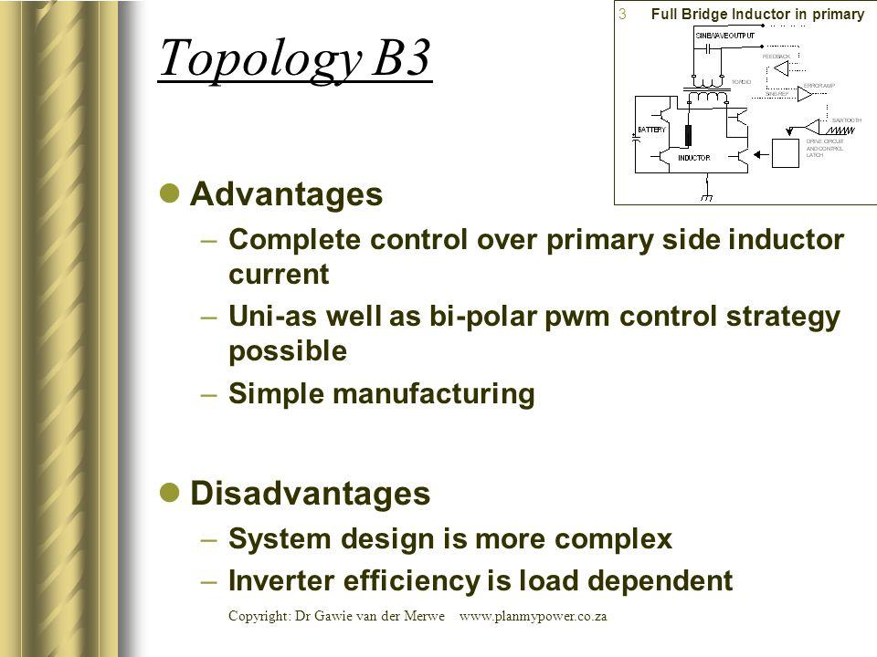 Full Bridge Inductor in primary