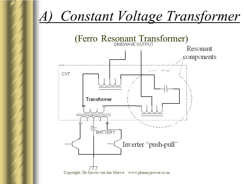 A) Constant Voltage Transformer