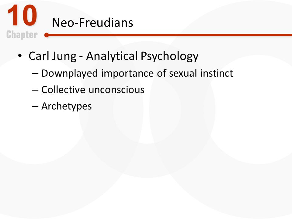 Neo-Freudians Carl Jung - Analytical Psychology