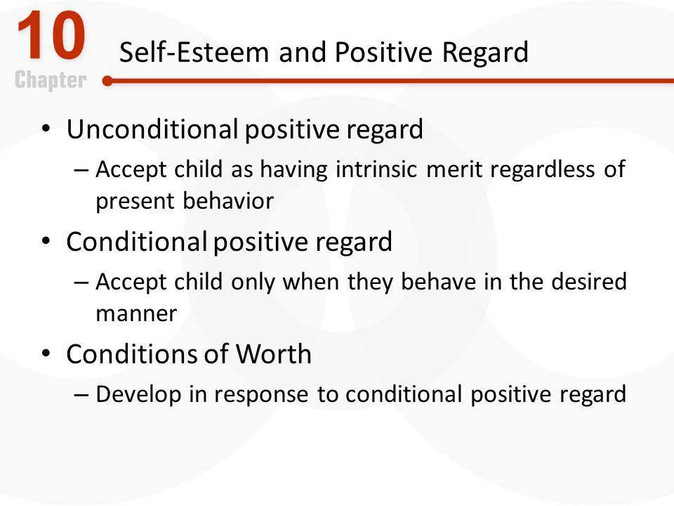 Self-Esteem and Positive Regard