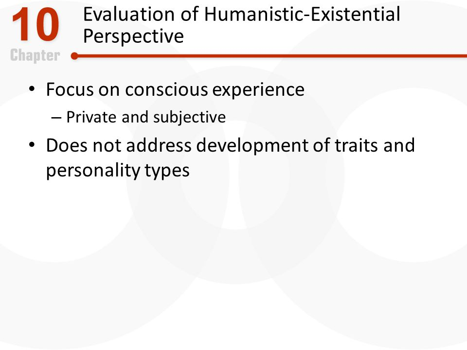 Evaluation of Humanistic-Existential Perspective