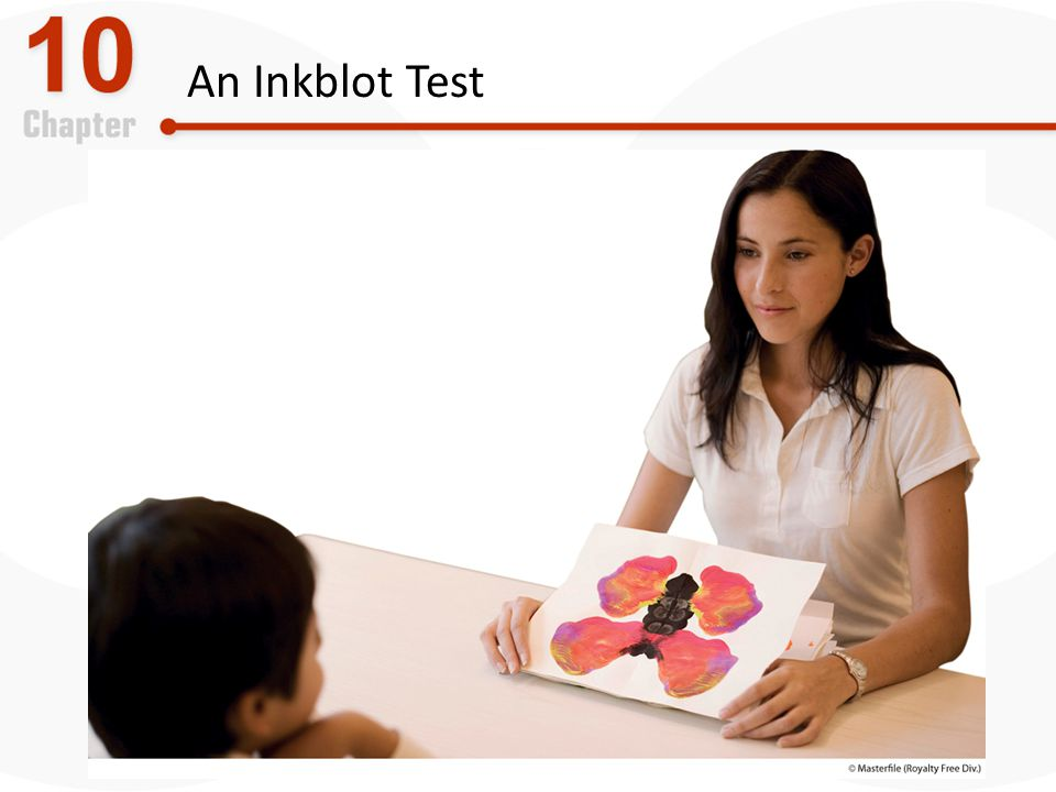 An Inkblot Test