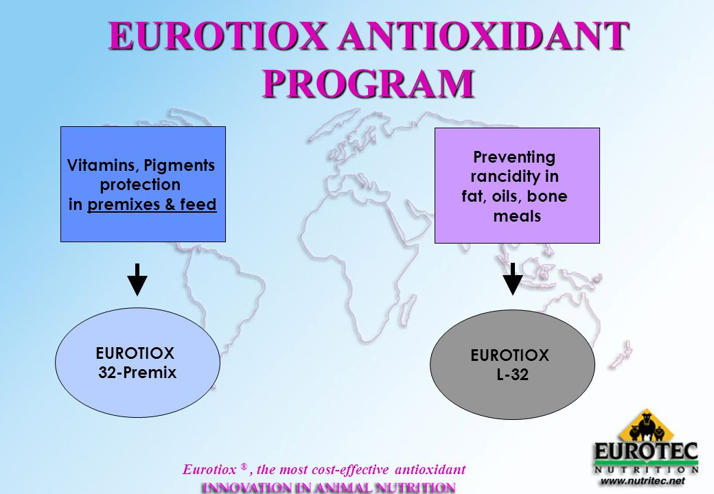 EUROTIOX ANTIOXIDANT PROGRAM