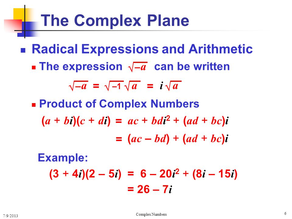 Complex Numbers and Their Geometry