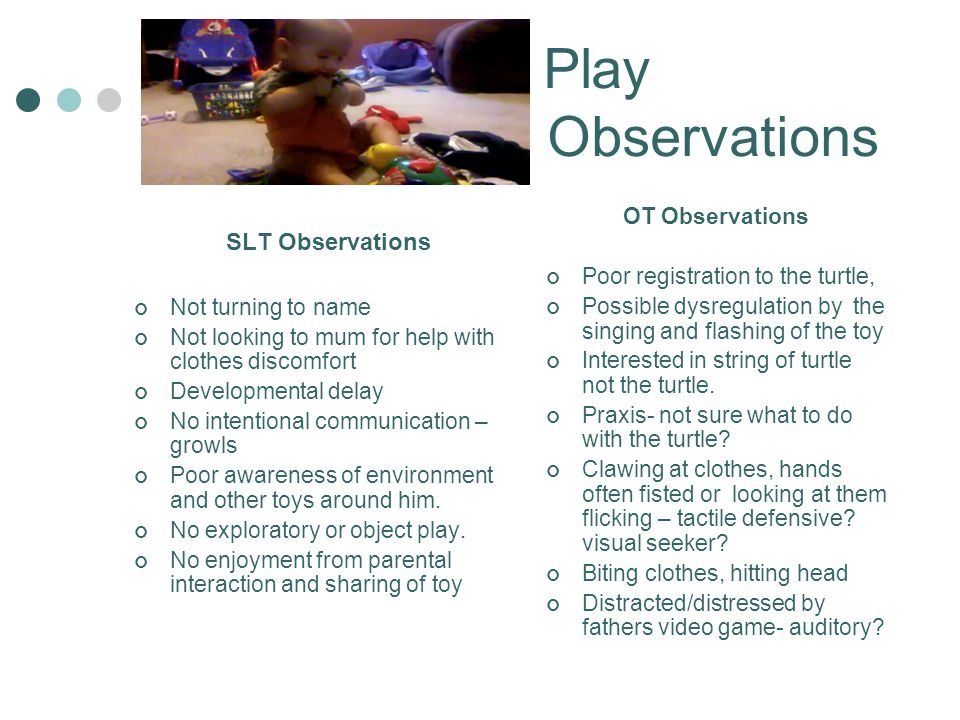 Play Observations Observations