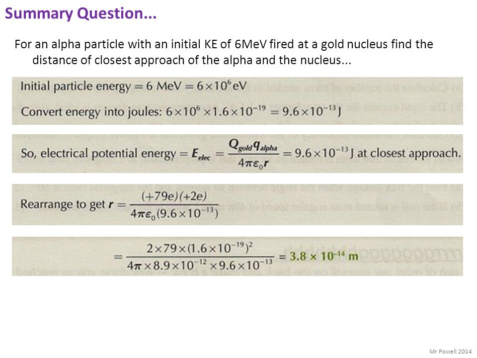 Summary Question...