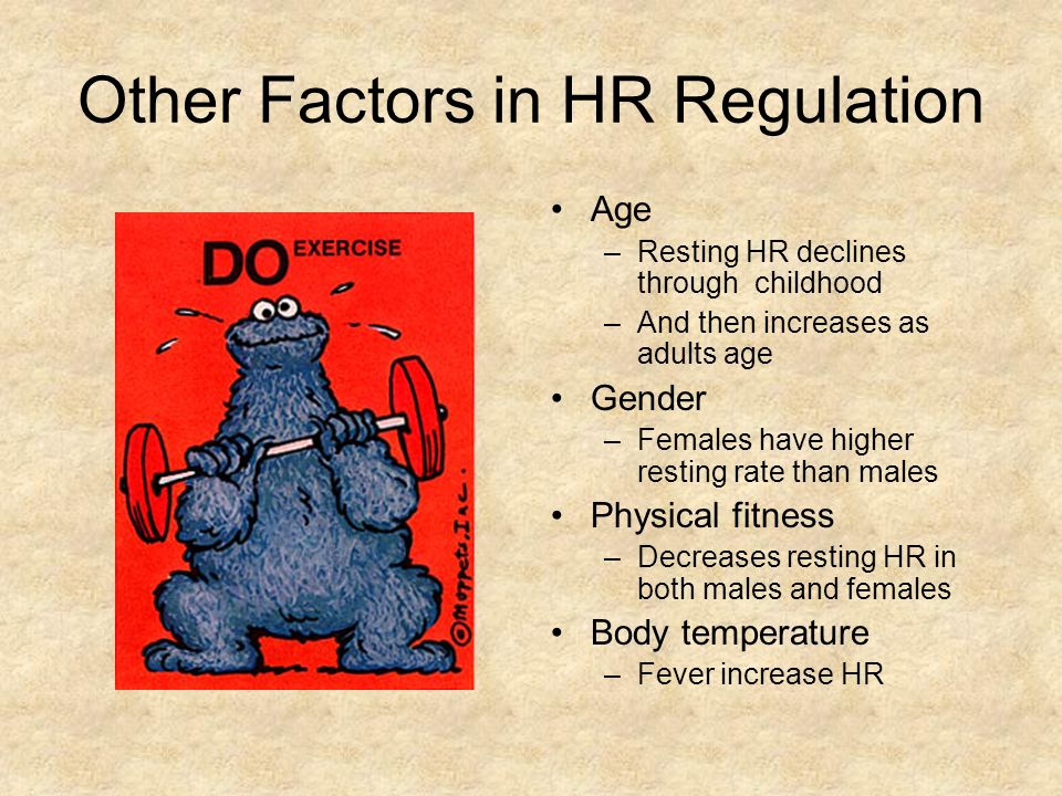 Other Factors in HR Regulation