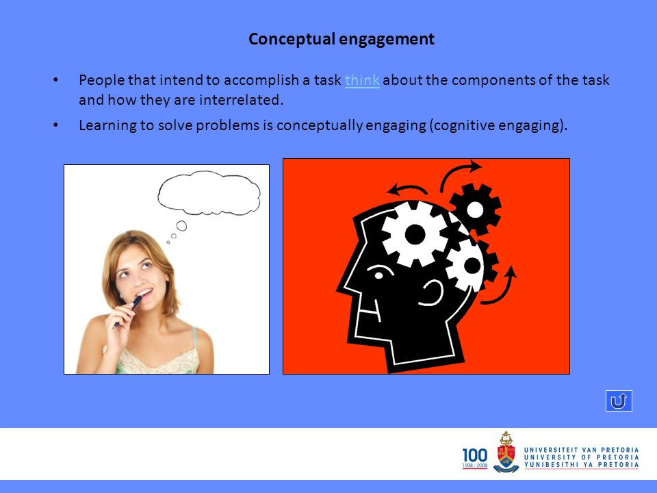 Conceptual engagement