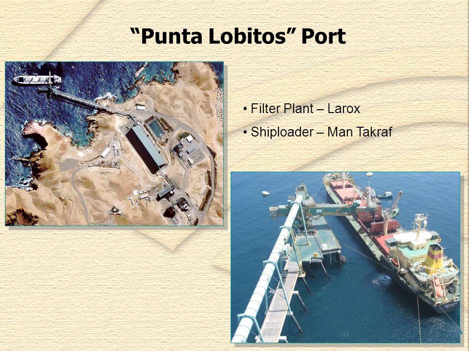 Punta Lobitos Port Filter Plant – Larox Shiploader – Man Takraf