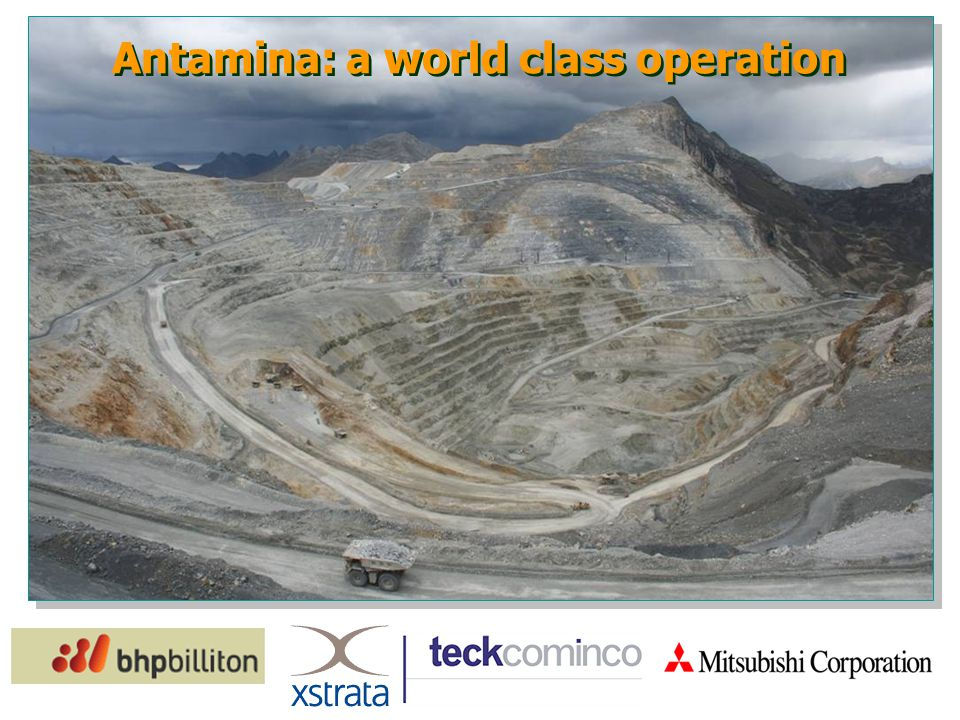 Antamina: a world class operation