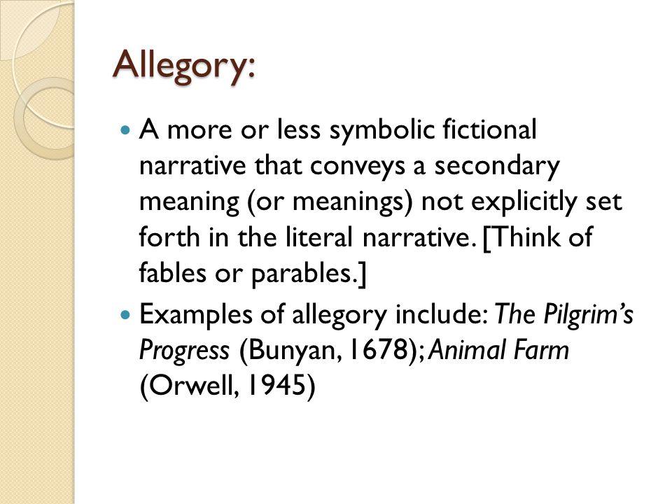 Allegory: