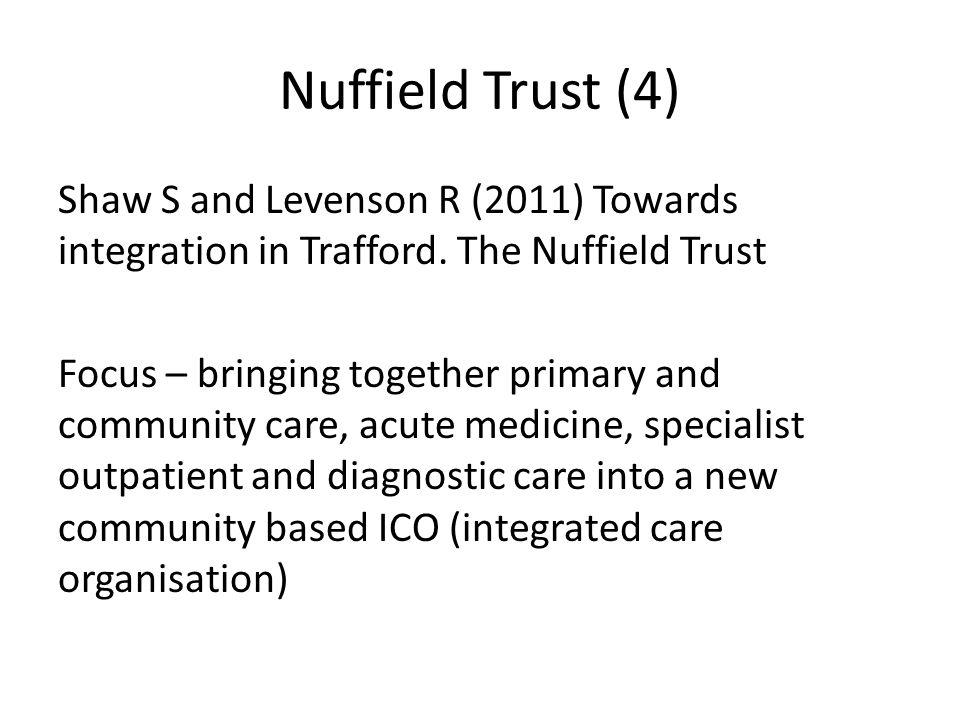 Nuffield Trust (4)
