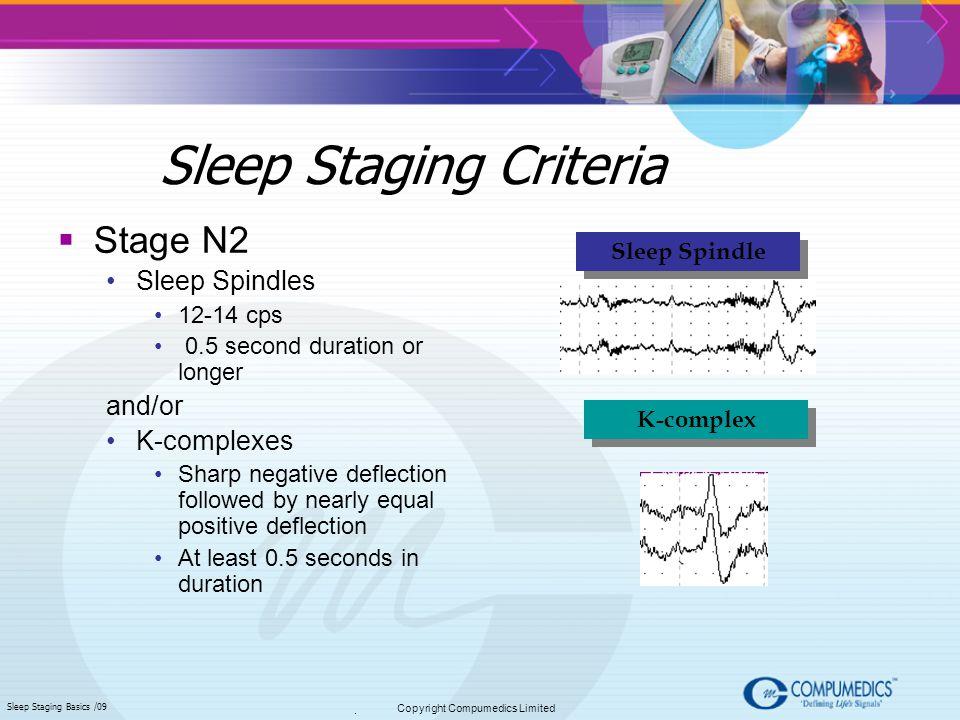 Sleep Staging Criteria
