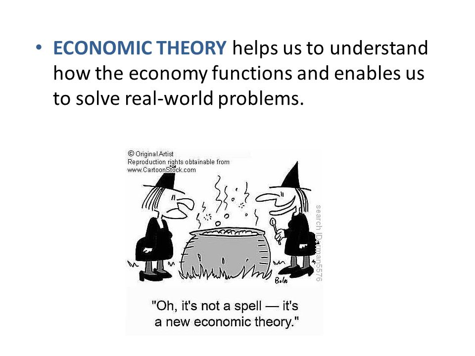 ECONOMIC THEORY helps us to understand how the economy functions and enables us to solve real-world problems.