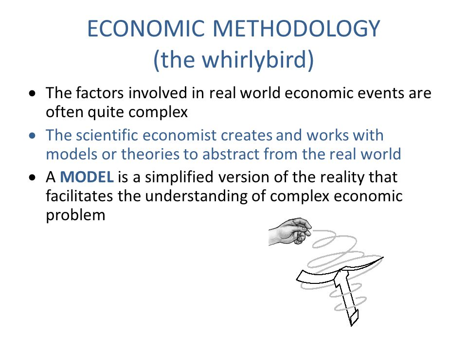 ECONOMIC METHODOLOGY (the whirlybird)