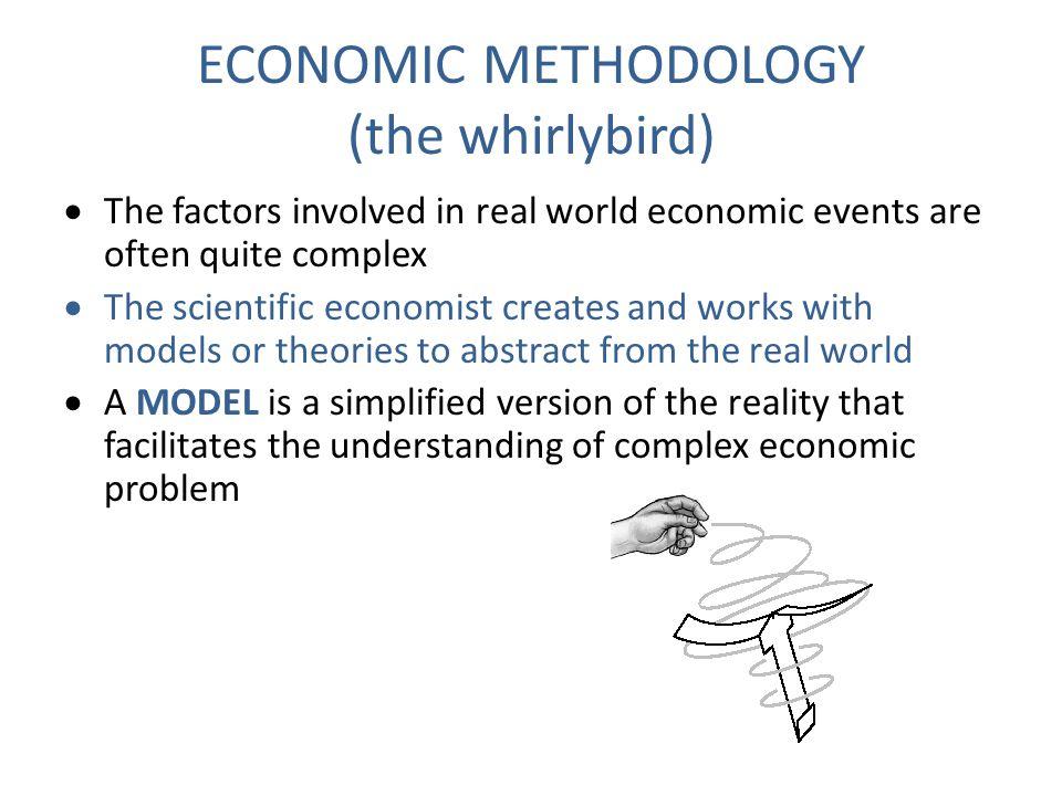 ECONOMIC METHODOLOGY (the whirlybird)