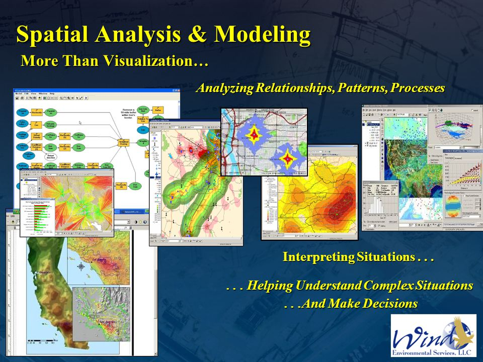 Spatial Analysis & Modeling More Than Visualization…