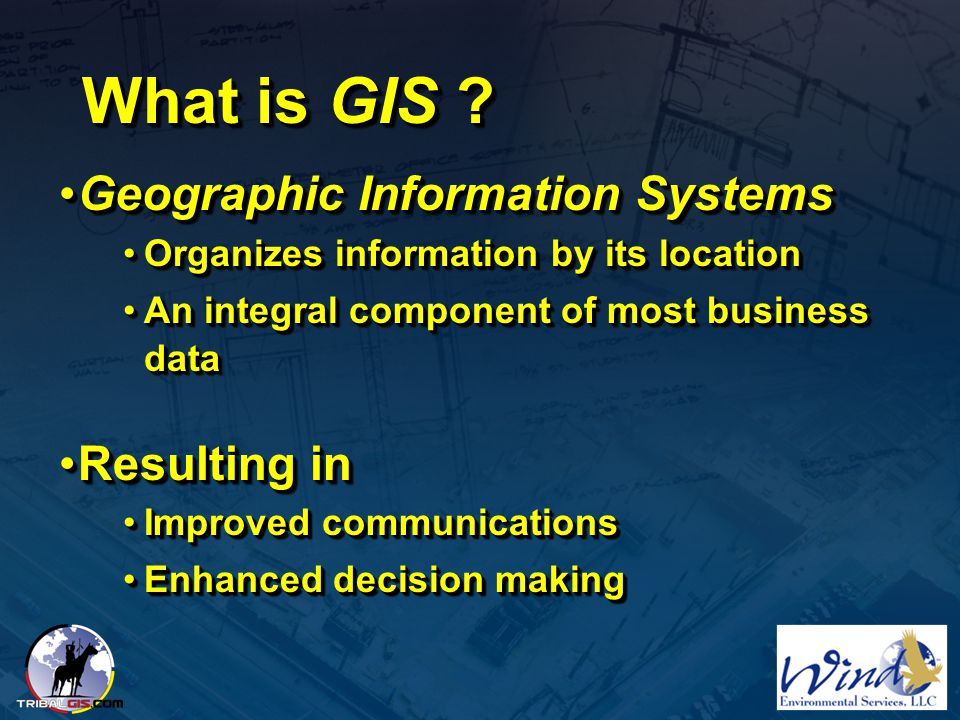 What is GIS Geographic Information Systems Resulting in